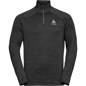 Odlo Millennium Element Midlayer 1/2 Zip Men black melange